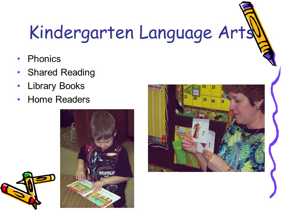 Kindergarten Language Arts Phonics Shared Reading Library Books Home Readers