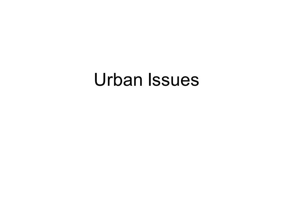 Urban Issues