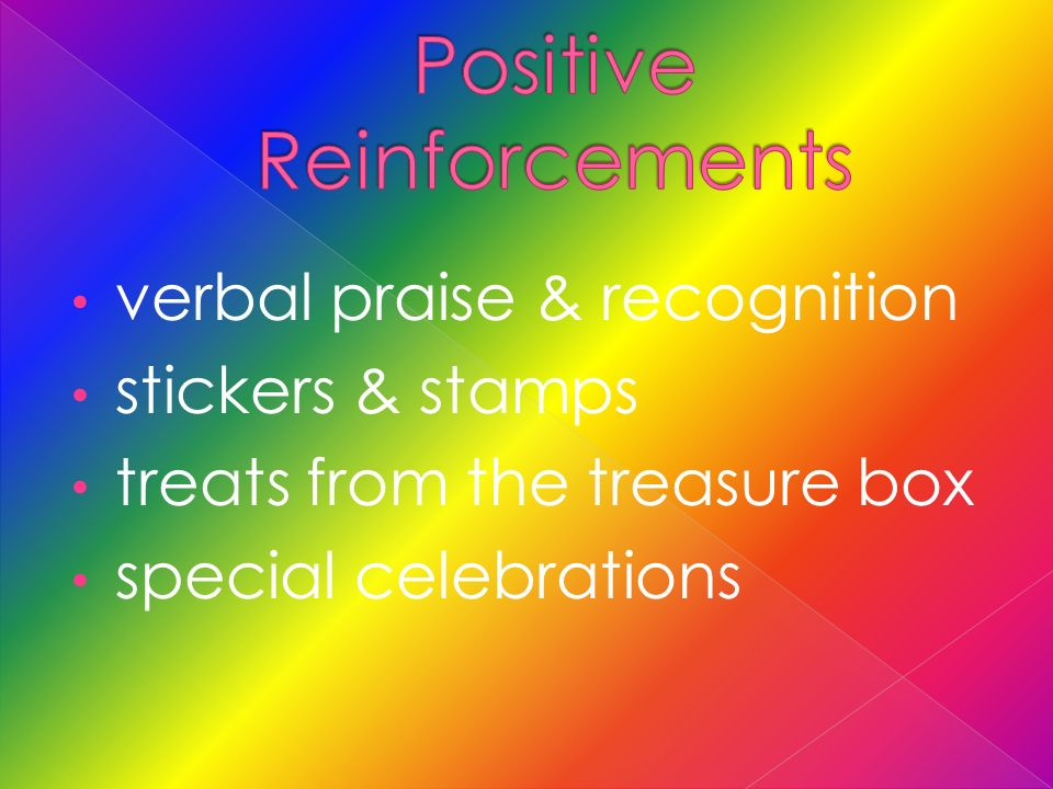 verbal praise & recognition stickers & stamps treats from the treasure box special celebrations
