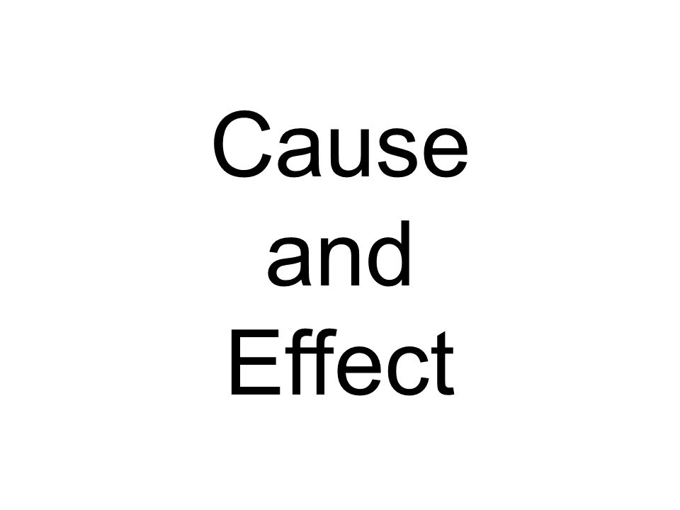 Effects Causes Why? Reasons Event What happened after the event?