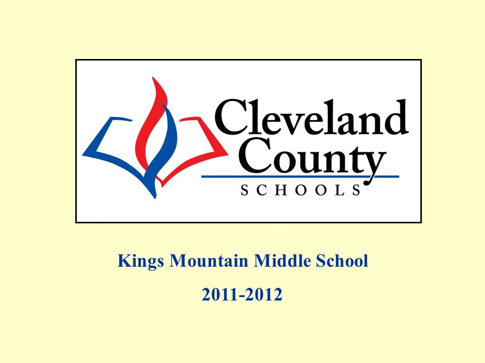 Kings Mountain Middle School 2011-2012