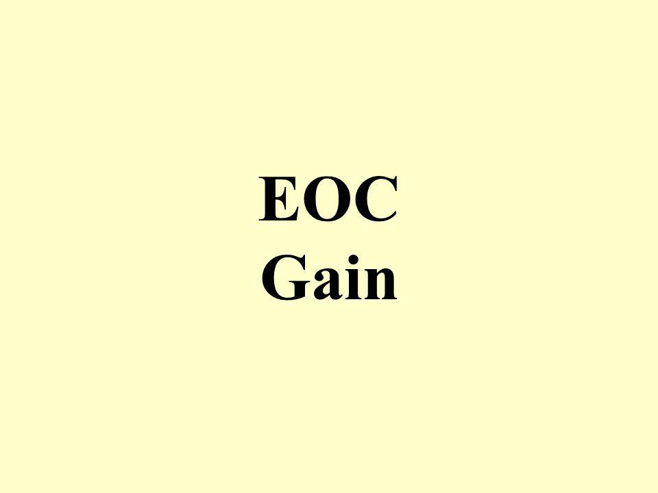 EOC Gain