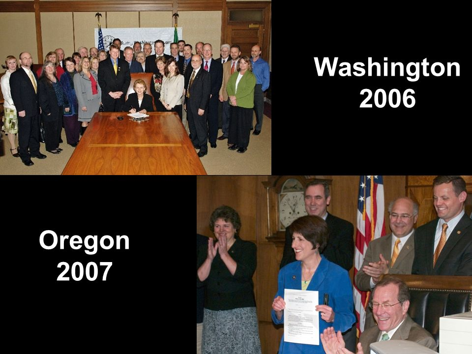 5 Washington 2006 Oregon 2007