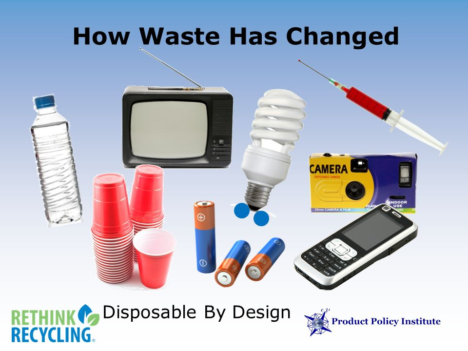 How Waste Has Changed Disposable By Design