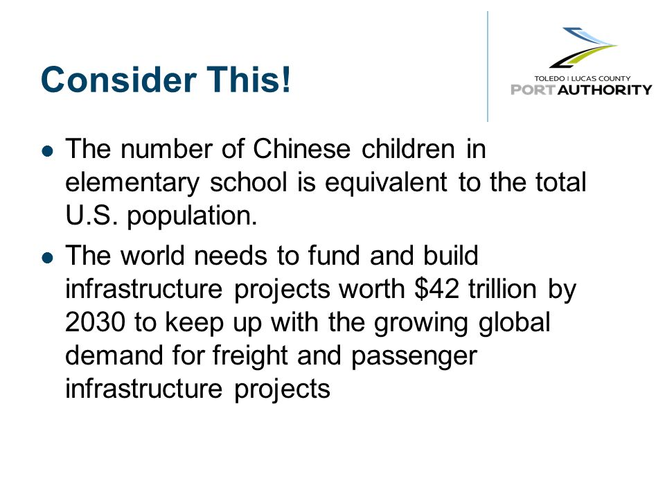Consider This. The number of Chinese children in elementary school is equivalent to the total U.S.