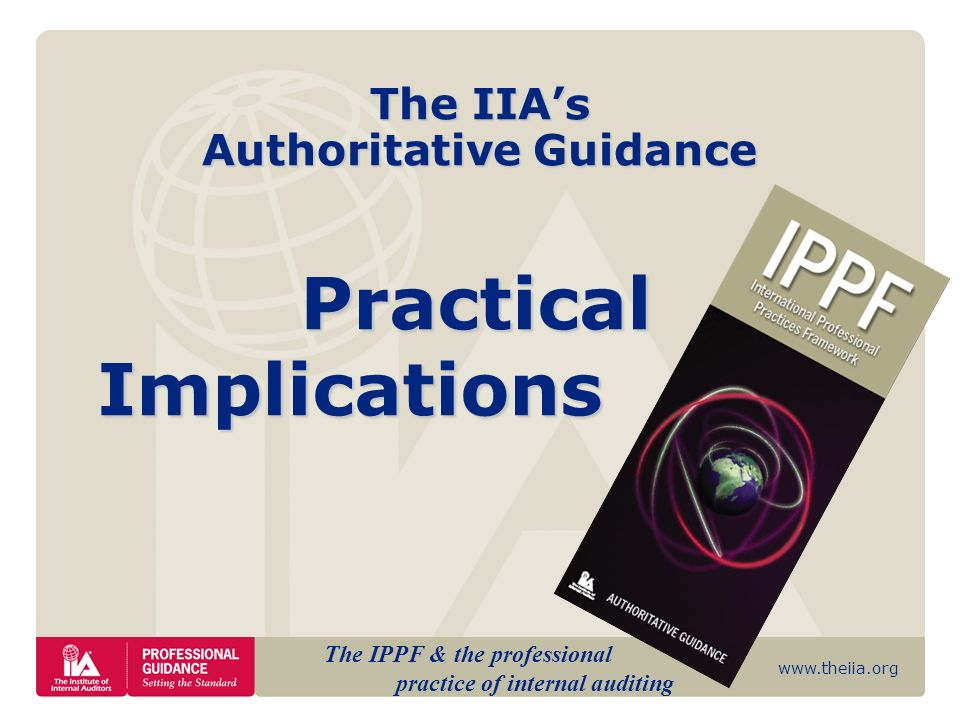 www.theiia/guidance/ippf.org 22 GTAG-1 Information Technology Controls Understanding IT controls Importance of IT controls Organizational roles and responsibilities for ensuring IT controls Analyzing risks Monitoring techniques IT control assessment