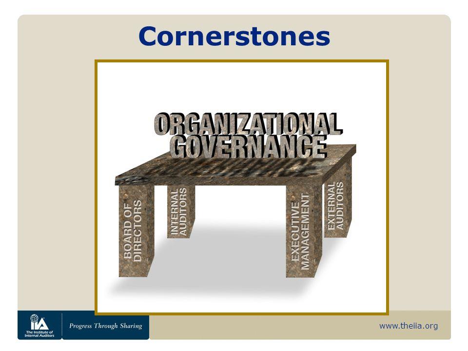 www.theiia.org Cornerstones