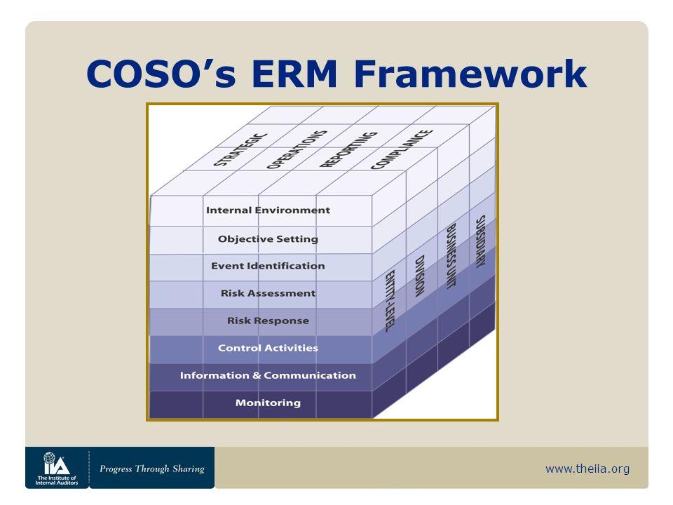 www.theiia.org COSOs ERM Framework