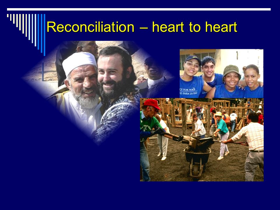 Reconciliation – heart to heart