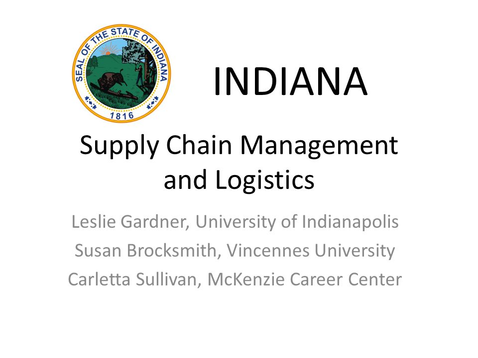 Logistics and Supply Chain Management college subjects in spanish