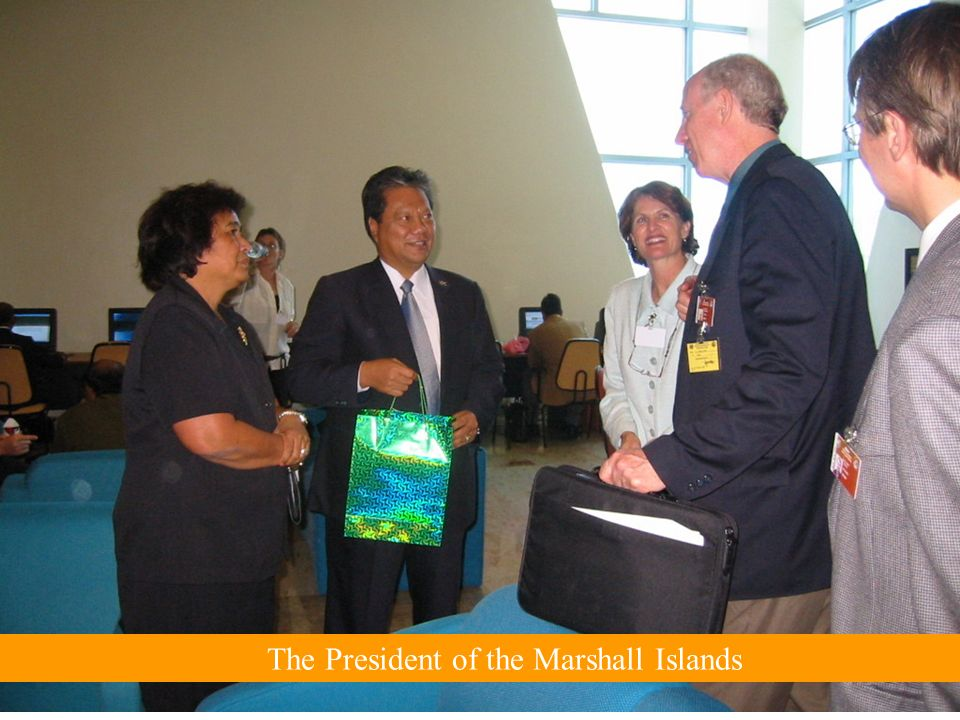 The President of the Marshall Islands