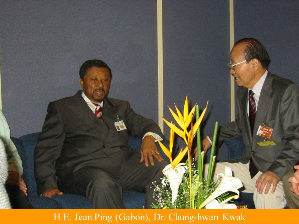 H.E. Jean Ping (Gabon), Dr. Chung-hwan Kwak
