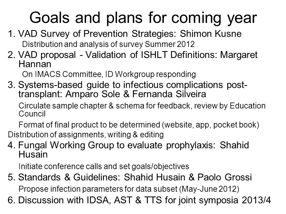 Key discussion points and action items for the Board 1.Publicity of ICAAC Joint Symposium A.