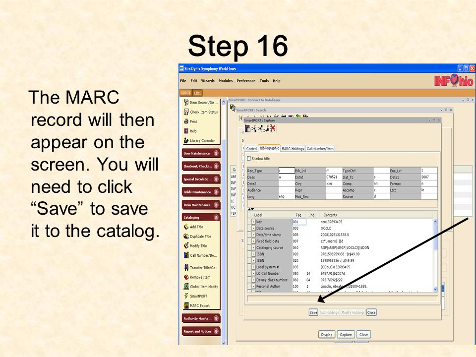 Step 15 Click on the down arrow on the Library box and select your library. Then, click OK.