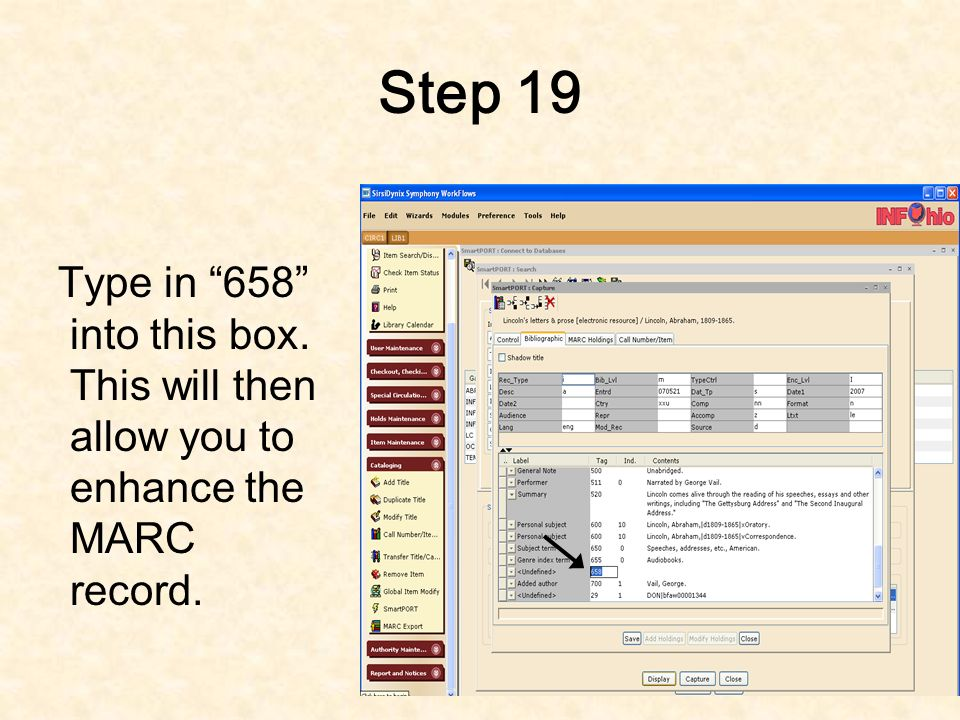 Step 18 Right click on the number closest to 658 and then select add field after.
