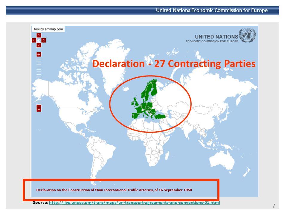 8 United Nations Economic Commission for Europe Source: http://live.unece.org/fileadmin/DAM/trans/conventn/ConstructionTrafficArteries.pdfhttp://live.unece.org/fileadmin/DAM/trans/conventn/ConstructionTrafficArteries.pdf