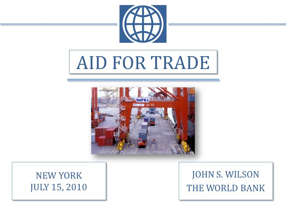 SUMMARY CONCLUSIONS Commitments on aid for trade solid.