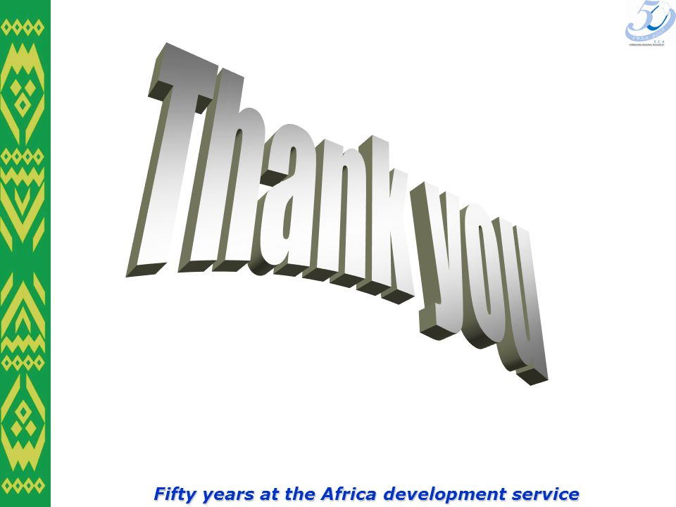 Fifty years at the Africa development service