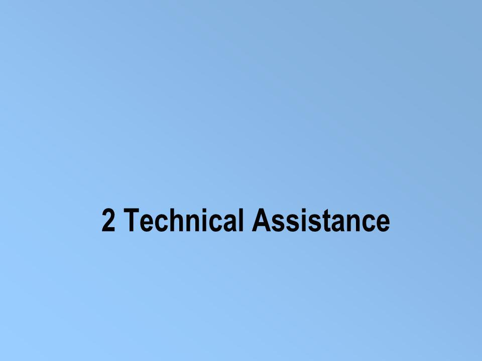 2 Technical Assistance