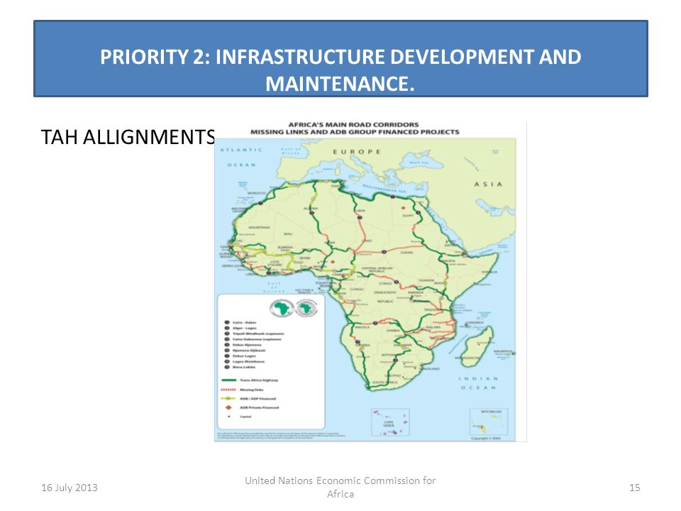 PRIORITY 2: INFRASTRUCTURE DEVELOPMENT AND MAINTENANCE.