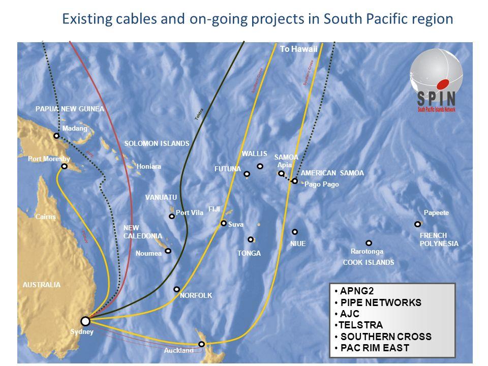 17SPIN Ltd copyright 2007 © APNG-2 Southern Cross Cairns Port Moresby Honiara WALLIS SOLOMON ISLANDS PAPUA NEW GUINEA FIJI AUSTRALIA NIUE Pago Apia AM