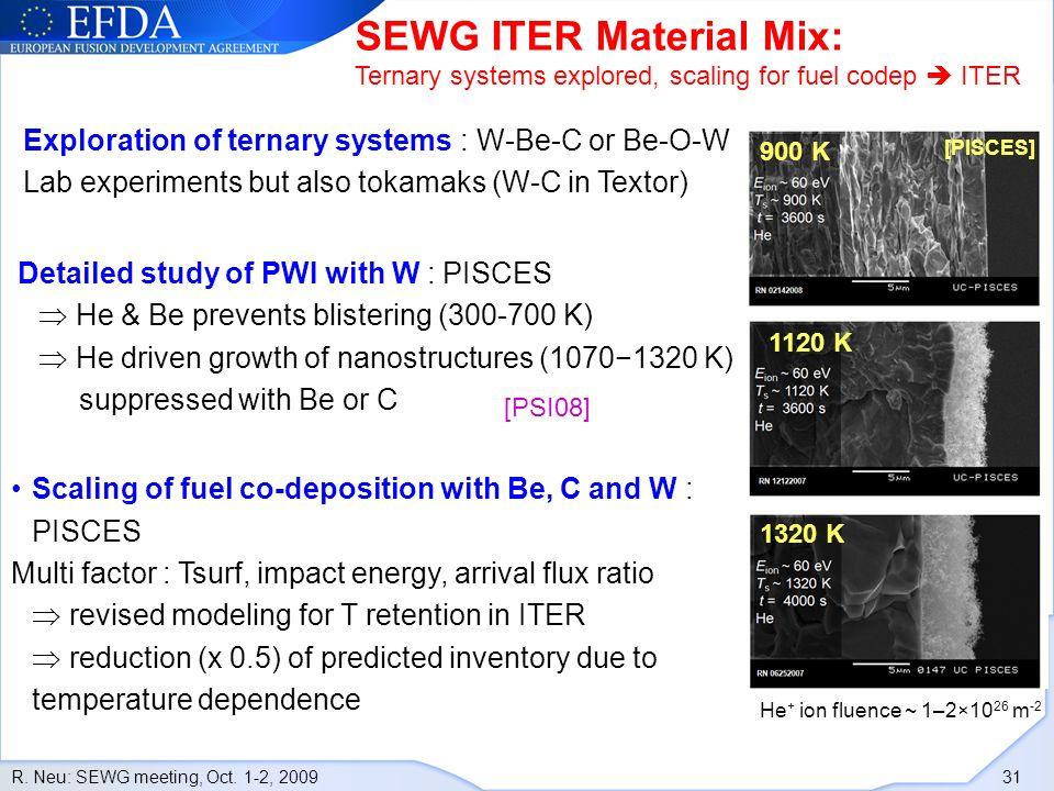R.Neu: SEWG meeting, Oct.