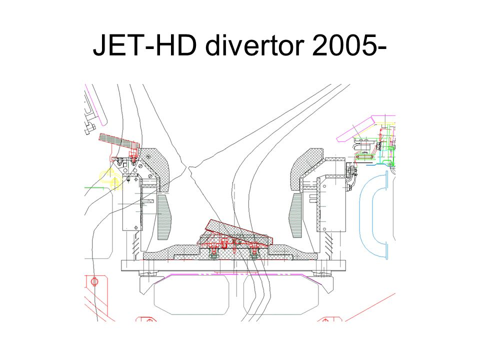 JET-HD divertor 2005-