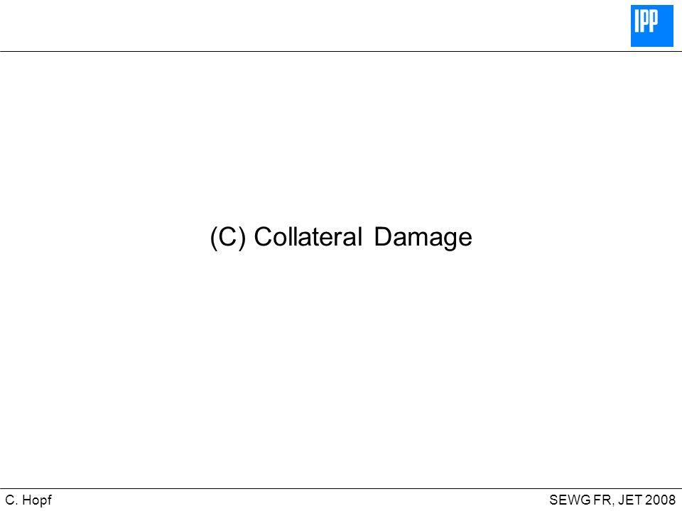 CIPS SEWG FR, JET 2008C. Hopf (C) Collateral Damage