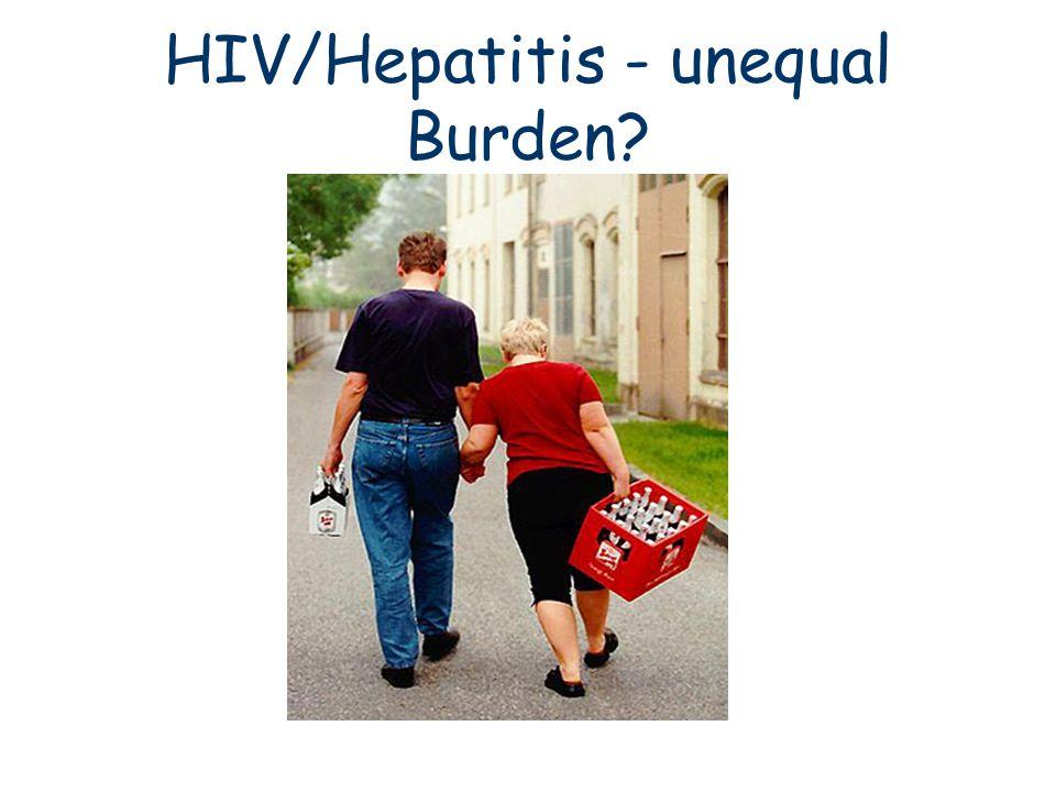 HIV/Hepatitis - unequal Burden?