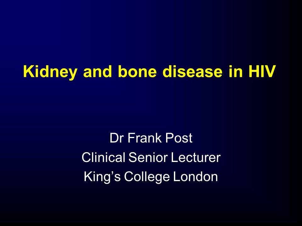 Changes in hip BMD in patients on TDF versus non-TDF HAART Gallant JE, et al.