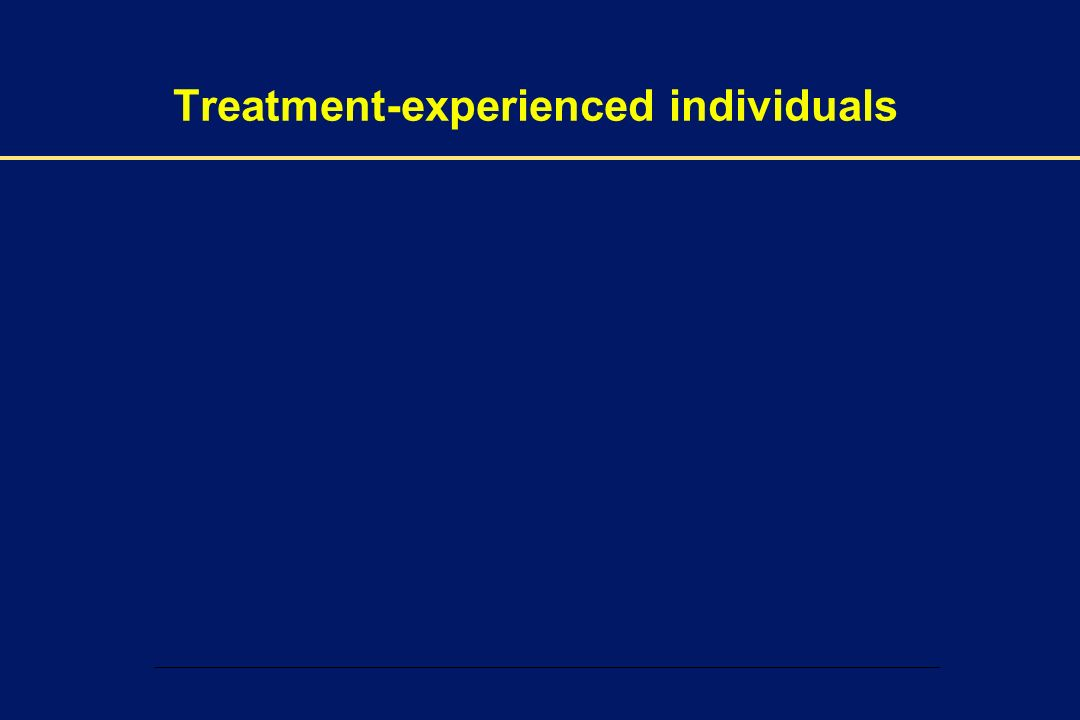 00002-E-37 – 1 December 2003 Treatment-experienced individuals