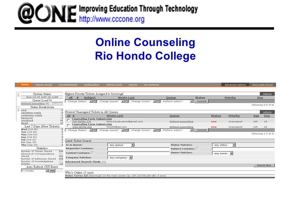Online Counseling Rio Hondo College