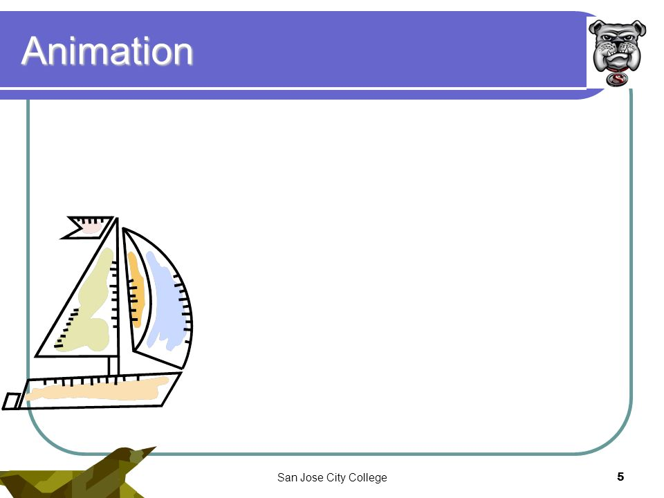 10/22/07San Jose City College5 Animation