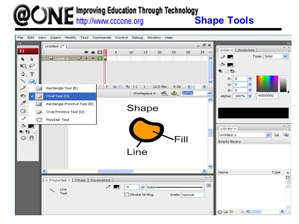 Shape Tools