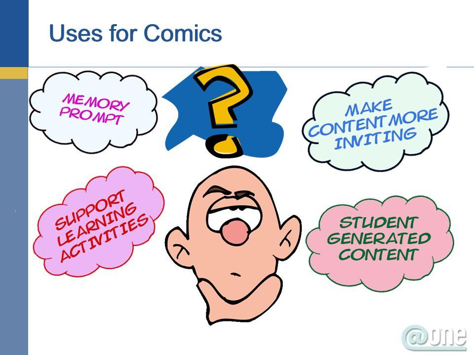 Uses for Comics