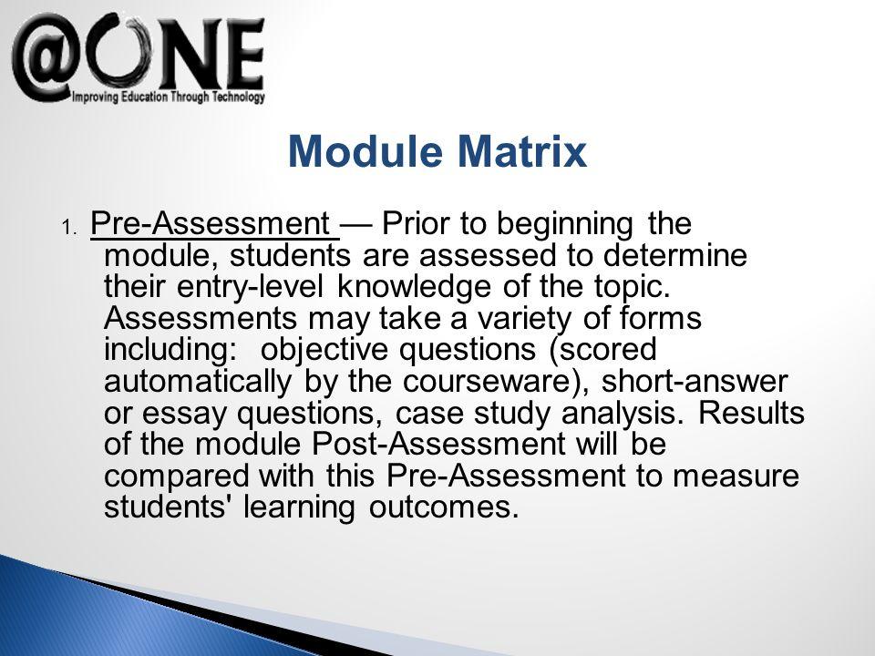 Module Matrix 1.