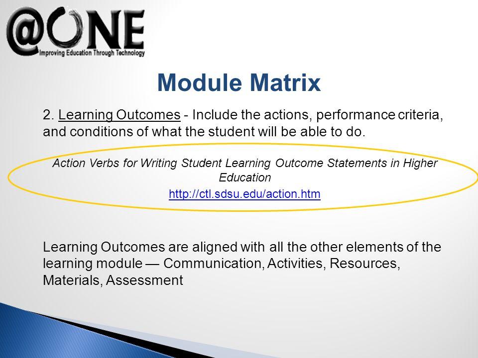 Module Matrix 2.