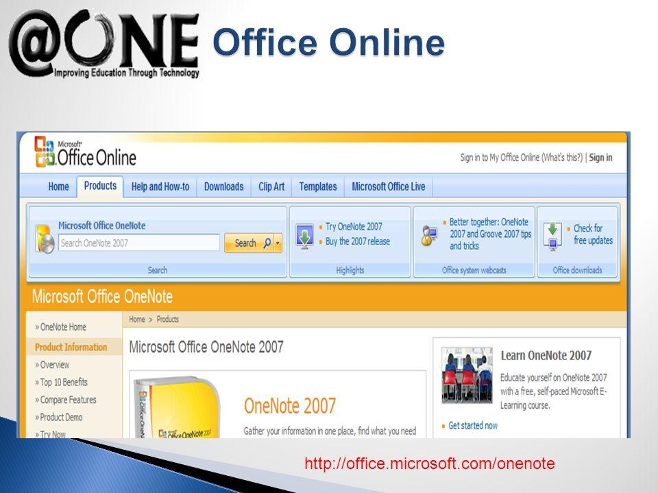 http://office.microsoft.com/onenote