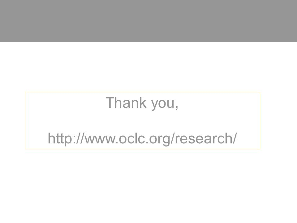 Thank you, http://www.oclc.org/research/