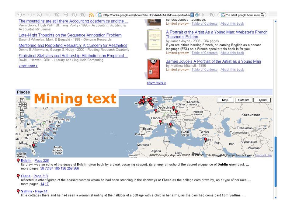 14 Mining text
