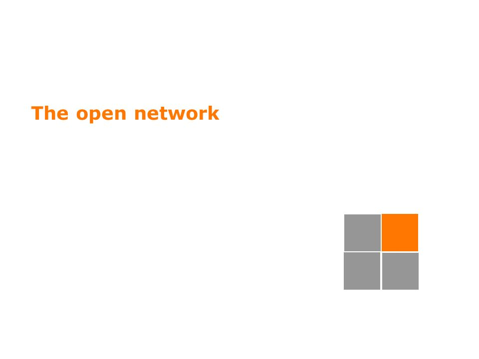 35 The open network