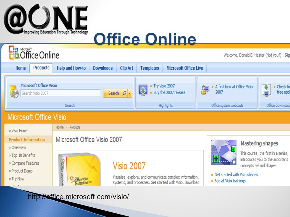 http://office.microsoft.com/visio/