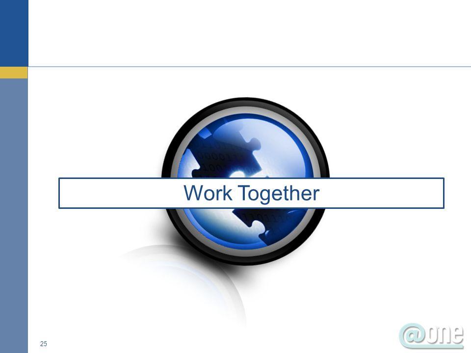 25 Work Together