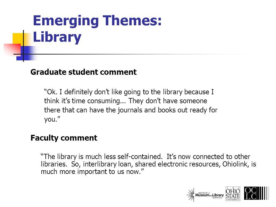 Graduate student comment Ok.