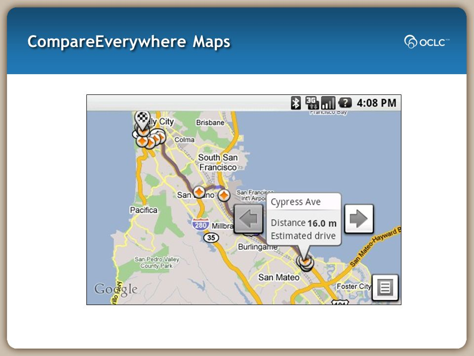CompareEverywhere Maps