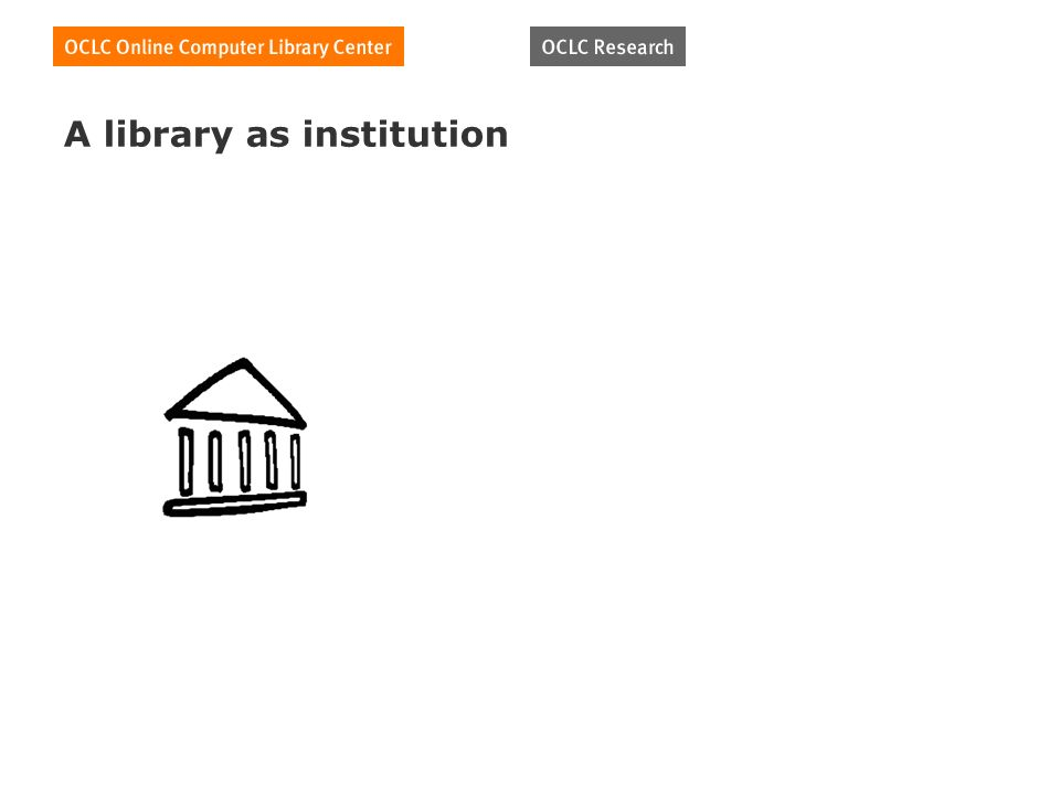 A library as institution