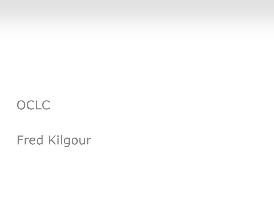 OCLC Fred Kilgour