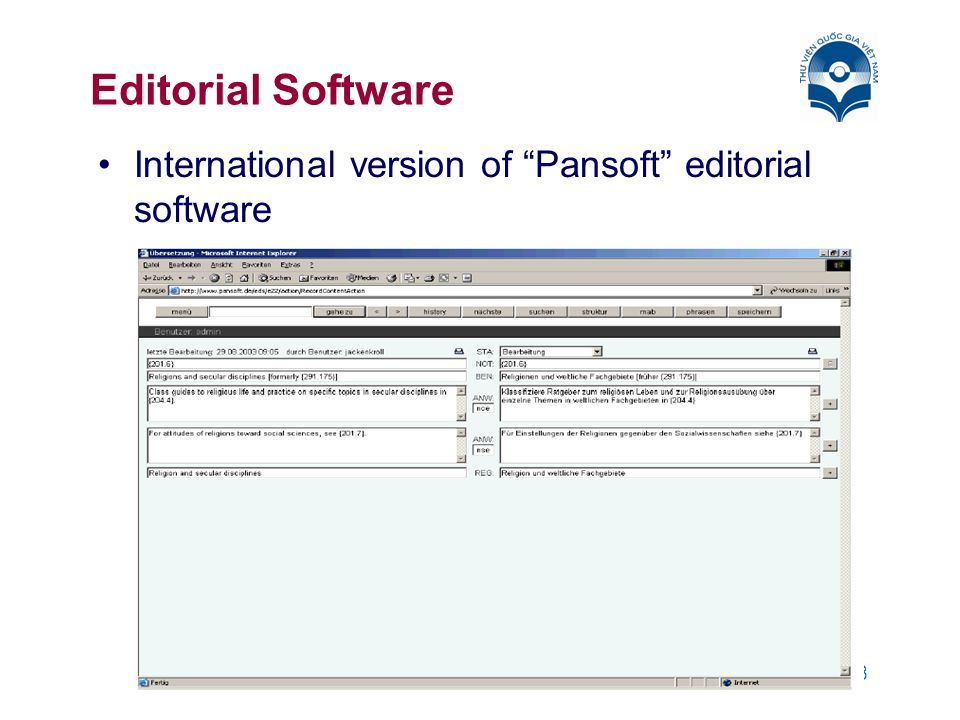 8 Editorial Software International version of Pansoft editorial software