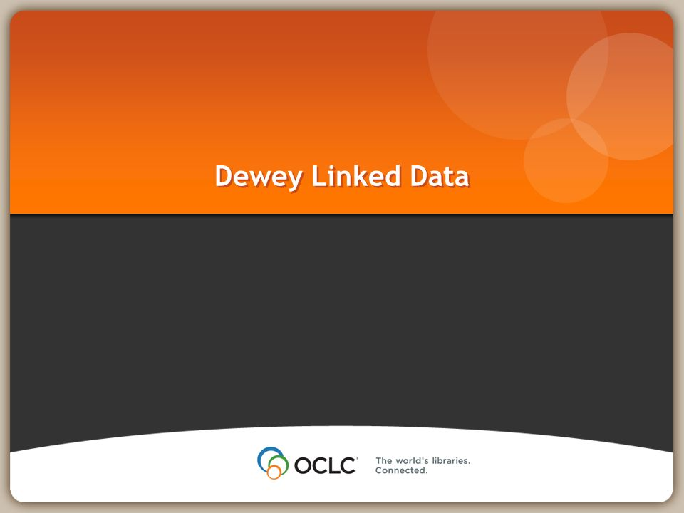 Dewey Linked Data