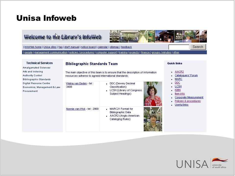 Unisa Infoweb